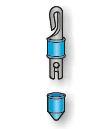 APICALE SUPER STONFO ART. 2 lenza-elastico