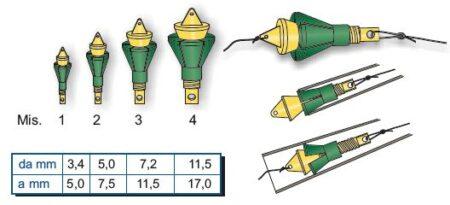 BASI REGOLABILI per elastico STONFO Art.5-1