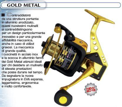 MULINELLO ALCEDO GOLD METAL