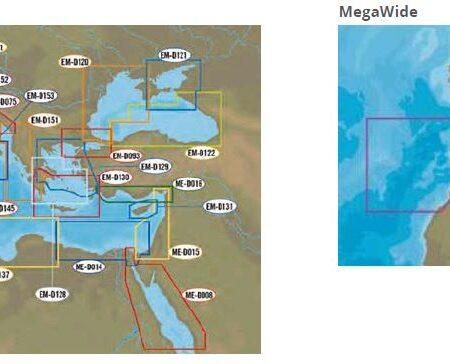 Cartografia C-MAP per Lowrance, B&G, Simrad