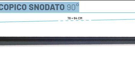 Colmic BRACCIO TELESCOPICO SNODATO 90°