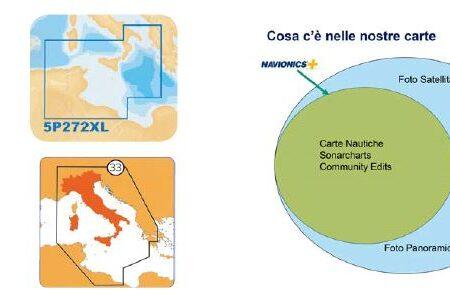 Cartografia NAVIONICS PLATINUM PLUS