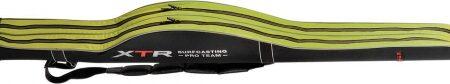 Fodero Trabucco RIGIDO SAGOMATO 2 SCOMPARTI - 186x20x16 cm