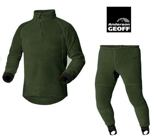 Geoff Set Polartec 200 Classic Pants+Top