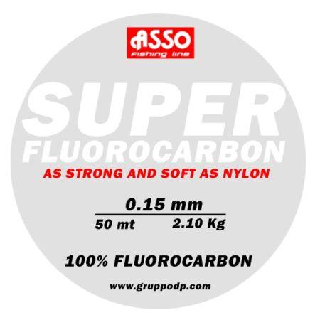 MONOFILO ASSO SUPER FLUORO CARBON   50 MT