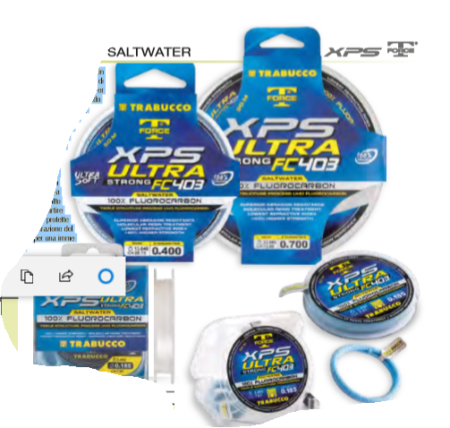 Fluorocarbon Trabucco Ultra Strong FC 403 Saltwater